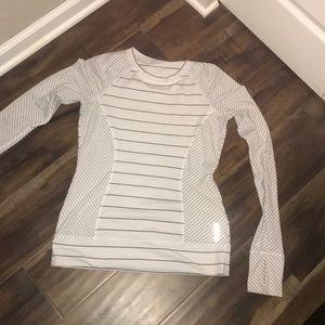 Reebok long sleeve workout shirt